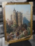 Гобелен в раме (В дворцовом парке, 70х50)